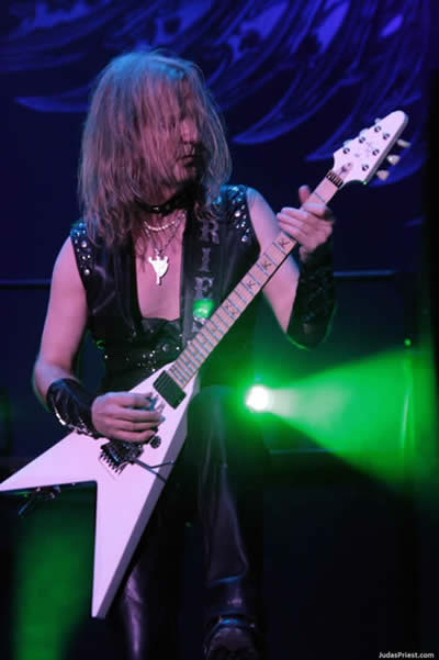 K.K. Downing of Judas Priest now plays KxK guitars